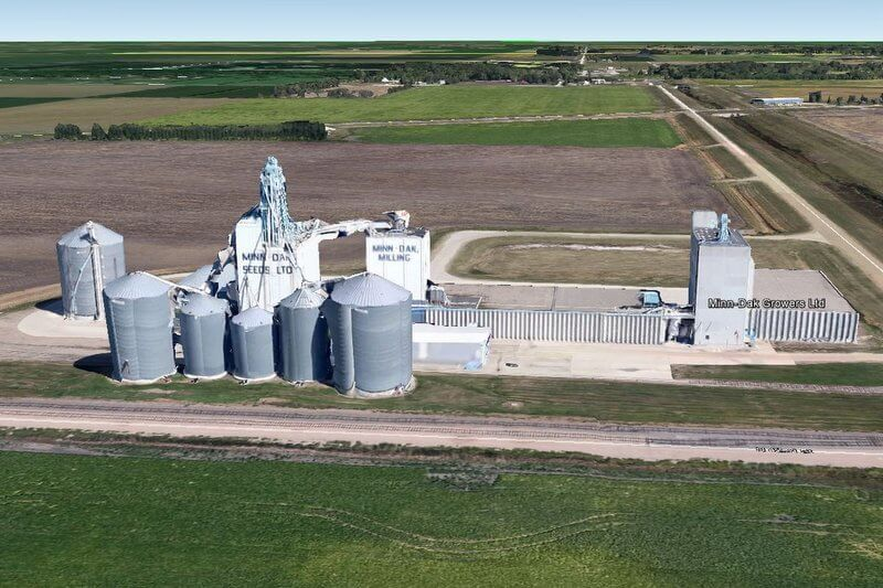 Minn-Dak Growers LTD Google Earth Image